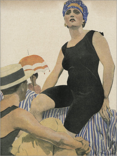 Premiumposter Swimwear July 1918