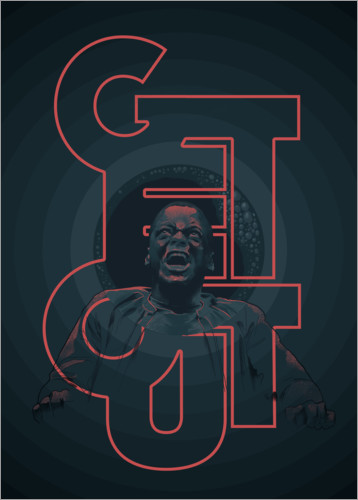 Premiumposter Get out