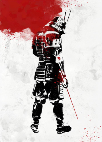 Premiumposter Samurai Warrior