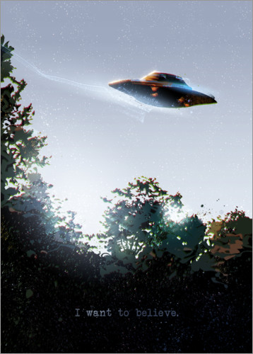 Premiumposter I Want To Believe