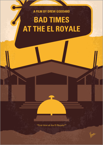 Premiumposter Bad Times At The El Royale