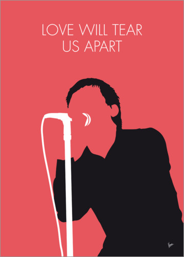 Premiumposter Joy Division - Love Will Tear Us Apart