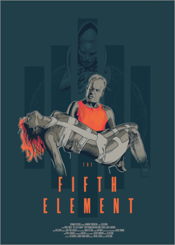 Premiumposter The Fifth Element