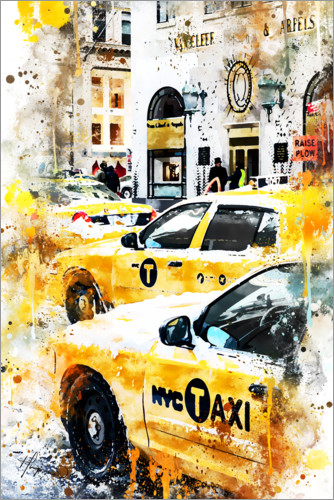 Premiumposter New York Taxis