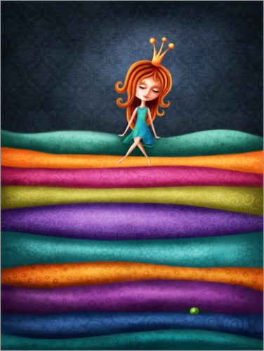 Premiumposter The Princess and the Pea
