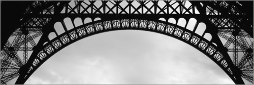 Premiumposter Vaults of the Eiffel Tower