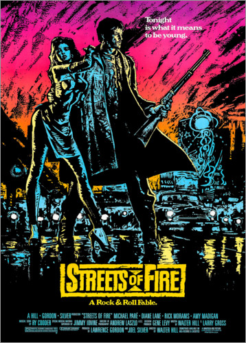 Premiumposter Streets of Fire