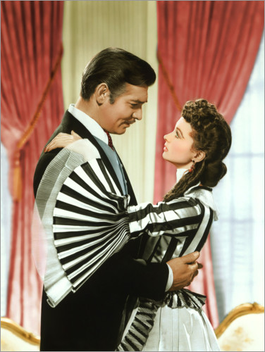 Premiumposter Gone with the wind