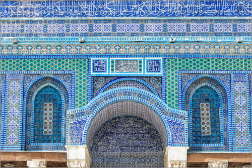 Premiumposter Pattern of the Dome of the Rock II