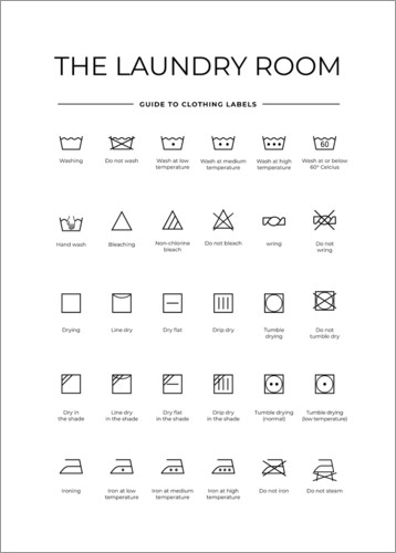 Premiumposter Clothing labels