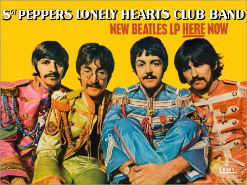 Premiumposter Sgt. Pepper's Lonely Hearts Club Band