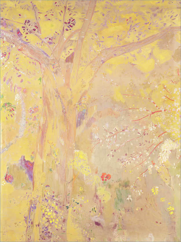 Premiumposter Yellow Tree