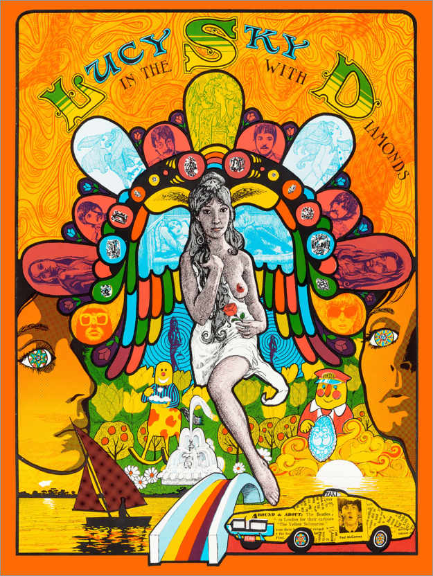 Premiumposter Lucy In The Sky With Diamonds