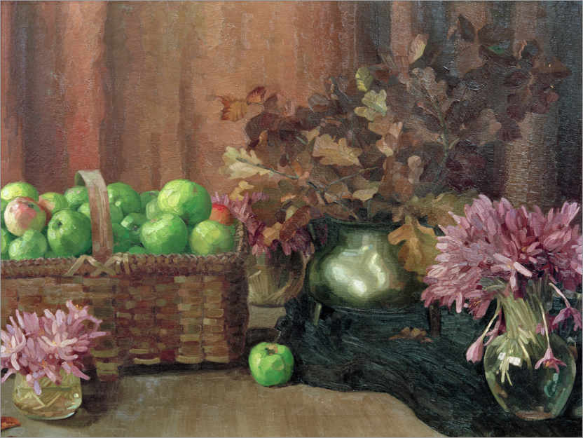 Premiumposter Still life with apples