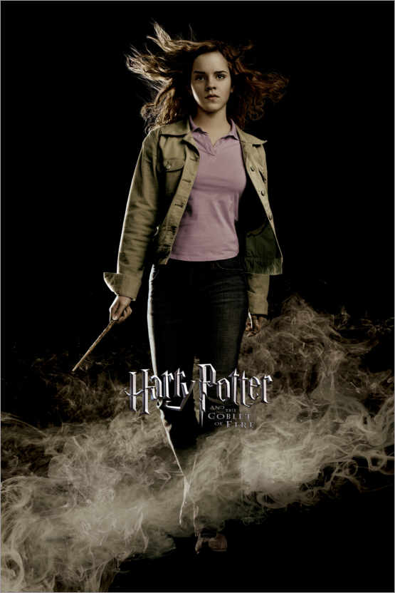 Premiumposter The Goblet of Fire - Hermione Granger