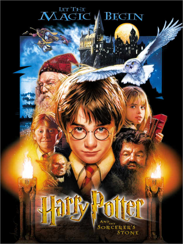 Premiumposter Harry Potter and the Sorcerer's Stone