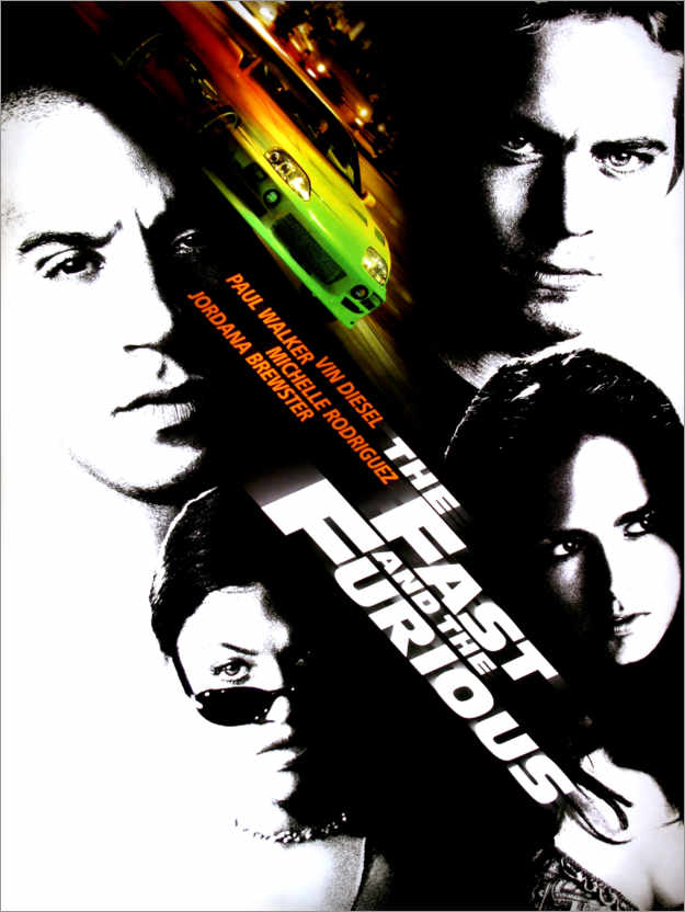 Premiumposter The fast and the furious