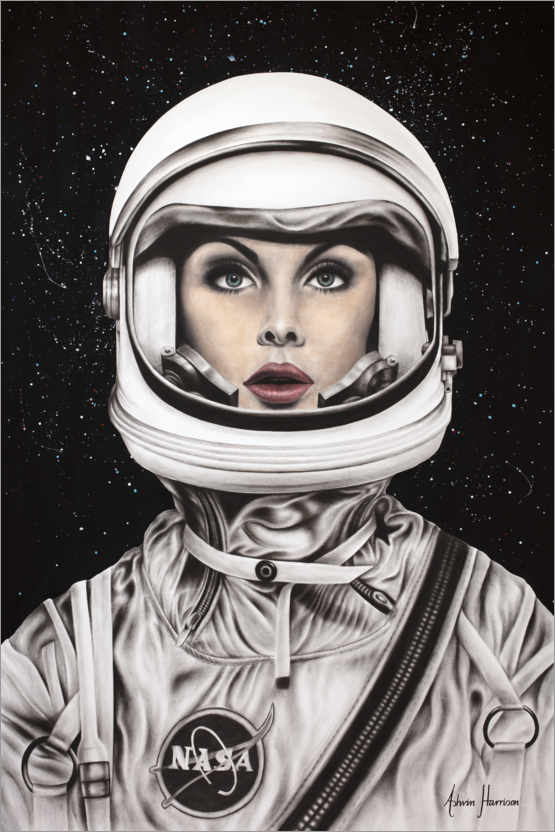Premiumposter Her Space