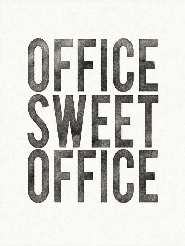 Premiumposter Office Sweet Office