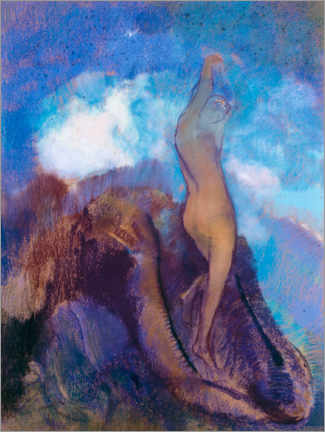 Premiumposter  The Birth of Venus - Odilon Redon