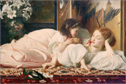 Premiumposter  Mother and Child - Frederic Leighton