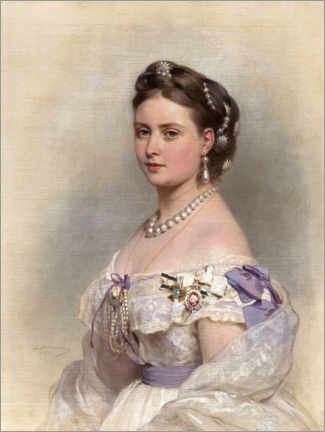 Premiumposter Victoria, Princess Royal