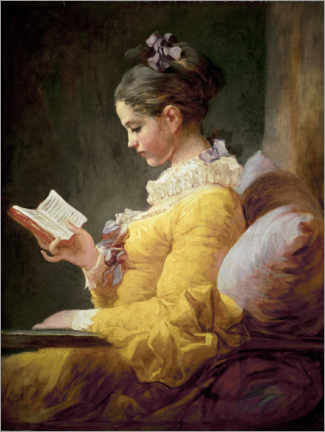 Premiumposter A Young Girl Reading