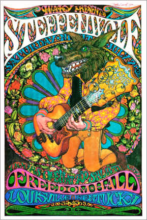 Premiumposter  Steppenwolf - Freedom Hall - Entertainment Collection
