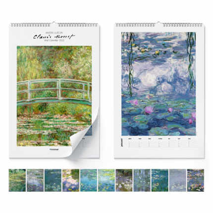 Väggkalender  Claude Monet, Water Lilies 2021 - Claude Monet