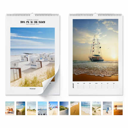 Väggkalender  Take Me To The Beach 2021