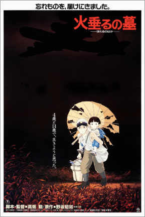 Akrylglastavla  Grave of the Fireflies (Japanese) - Entertainment Collection