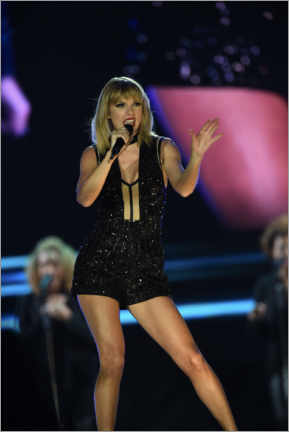 Premiumposter  Taylor Swift in concert, F1 Circuit of the Americas, Texas 2016