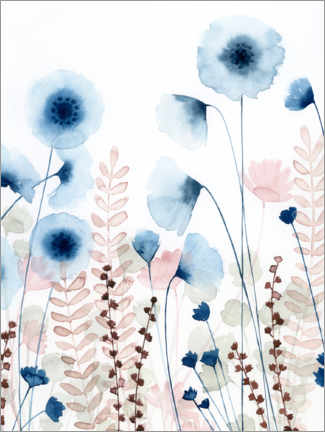 Canvastavla  Sweet flower field - Grace Popp