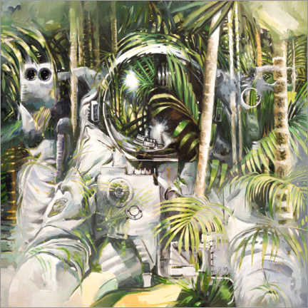 Premiumposter  Bamboo forest - Johnny Morant