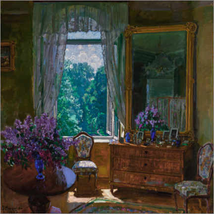 Premiumposter Interior with lilac