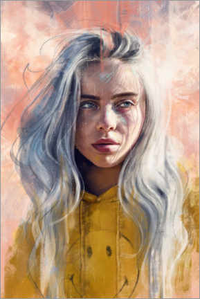 Premiumposter  Billie Eilish - Dmitry Belov
