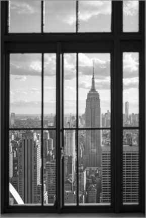 Canvastavla  Empire State Building in New York City - Jan Christopher Becke