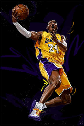Premiumposter  Kobe Bryant - Dmitry Belov