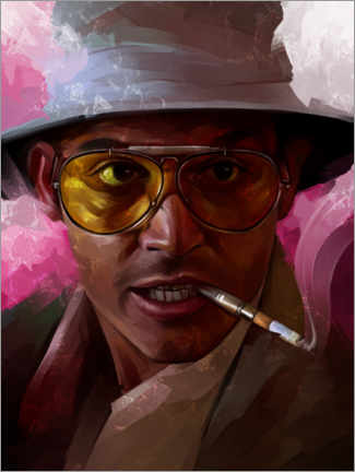 Premiumposter Fear and Loathing in Las Vegas