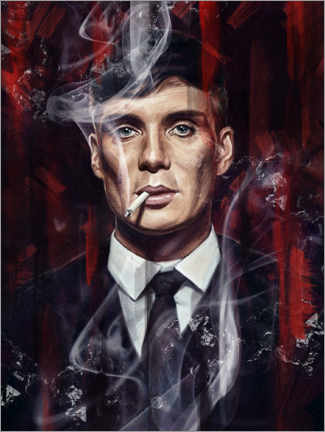Trätavla  Peaky Blinders - Dmitry Belov