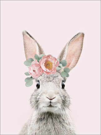 Premiumposter  Flower bunny - Sisi And Seb
