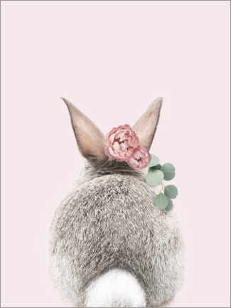 Premiumposter  Flower bunny tail - Sisi And Seb