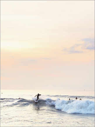 Canvastavla  Surfer in the sunset - Sisi And Seb