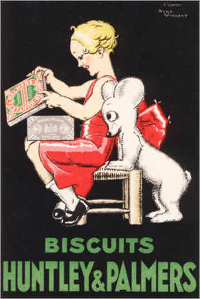 Premiumposter Biscuits Huntley & Palmers