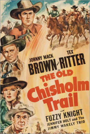 Premiumposter  The Old Chisholm Trail - Entertainment Collection