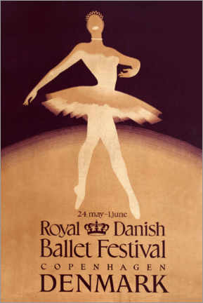 Premiumposter  Royal Danish Ballet Festival - Travel Collection