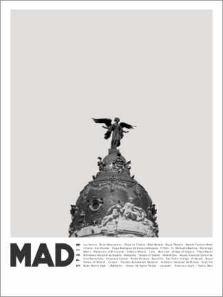 Premiumposter  Attractions in Madrid - Finlay and Noa