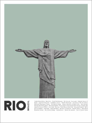 Premiumposter  Attractions in Rio - Finlay and Noa