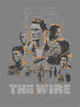 Premiumposter  The Wire - The Usher designs