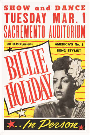 Premiumposter  Billie Holiday - Advertising Collection